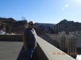 Warren on the Hoover dam
