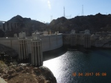 the dam and generators