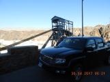 Ursula on the dam!